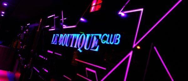 Fiesta de presentación Le Boutique Club